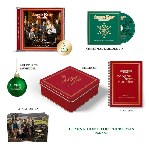 Coming Home For Christmas (Ltd. Fanbox) von Angelo Kelly & Family - Boxset jetzt im Universal Music Shop