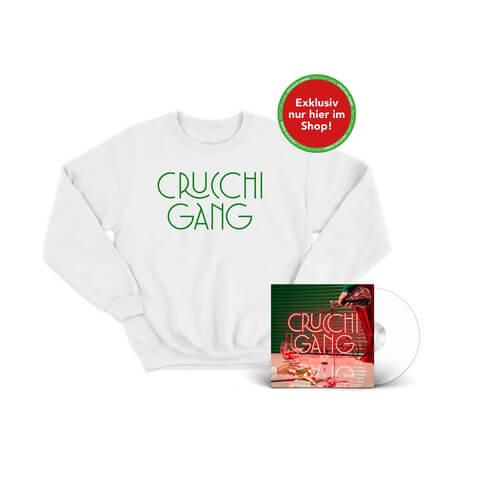 √Crucchi Gang (CD + Sweater Weiß) von Crucchi Gang - CD-Bundle jetzt im Universal Music Shop