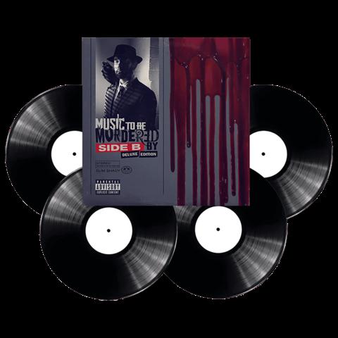 √Music To Be Murdered By - Side B (Deluxe Edition) von Eminem - 4LP jetzt im Universal Music Shop