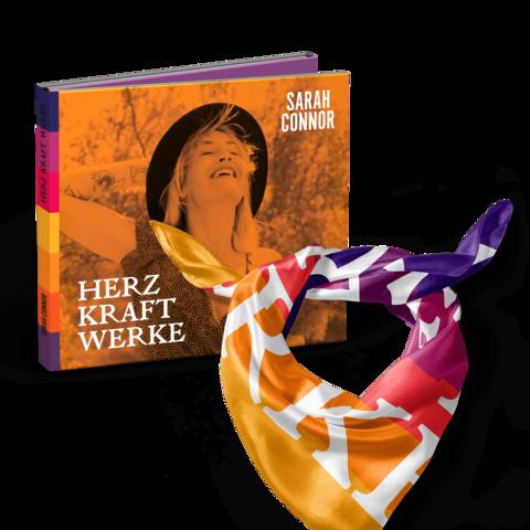 √HERZ KRAFT WERKE (Special Deluxe Edition Bundle) von Sarah Connor - CD + Tuch + Puzzle jetzt im Universal Music Shop