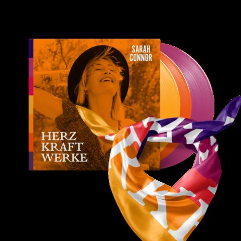 √HERZ KRAFT WERKE (Special Deluxe Edition 3LP Bundle) von Sarah Connor - 3LP + Tuch + Puzzle jetzt im Universal Music Shop
