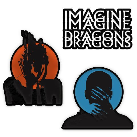 Heart Attacks by Imagine Dragons - Set of patches - shop now at Universal Music store