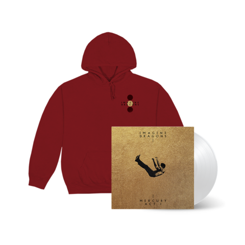 Mercury - Act I (Exclusive White Vinyl + Hoodie) by Imagine Dragons - LP + Hoodie - shop now at Universal Music store