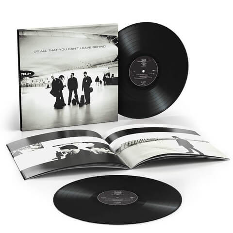 All That You Can't Leave Behind Standard 2LP by U2 - 2LP - shop now at Universal Music store