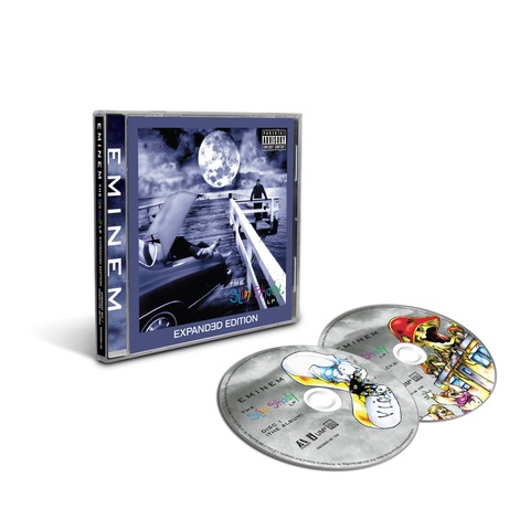 The Slim Shady LP (Expanded Edition - 2 CD) von Eminem - 2CD jetzt im Universal Music Shop