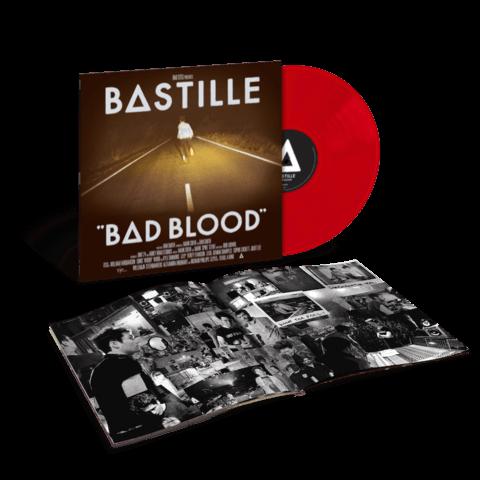 Bad Blood (Ltd. Red Vinyl) von Bastille - LP jetzt im Universal Music Shop